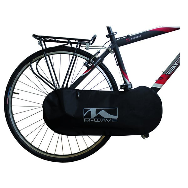 M-Wave Rotterdam Black Nylon Chain Cover Bag