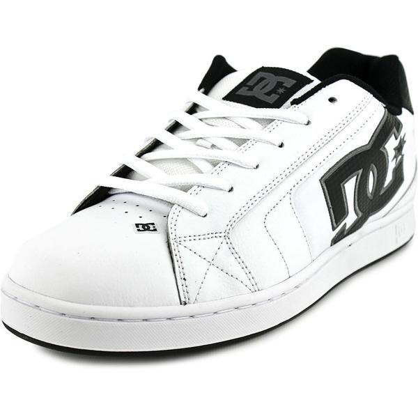 DC Shoes Men's 'Net' Leather Athletic Shoes