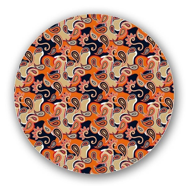 Rock Orange Lazy Susan