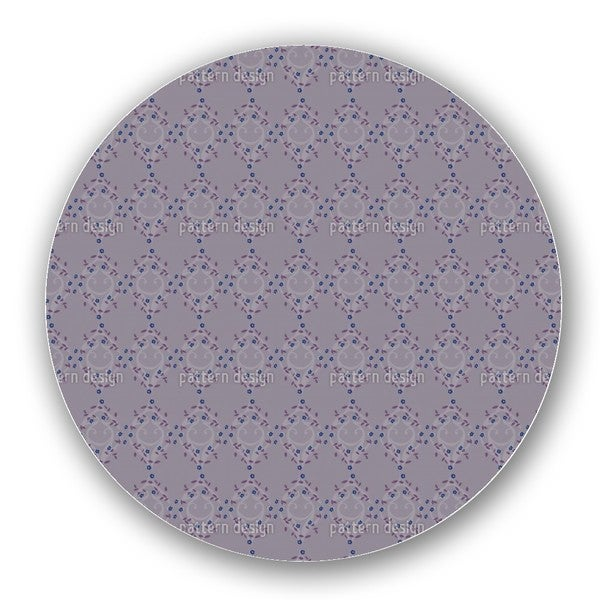 Forget-Me-Not Dark Lazy Susan