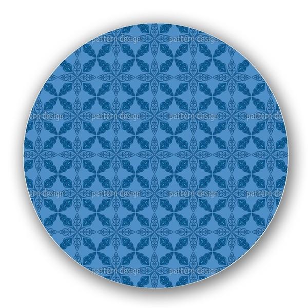 Moroccan Blue Lazy Susan