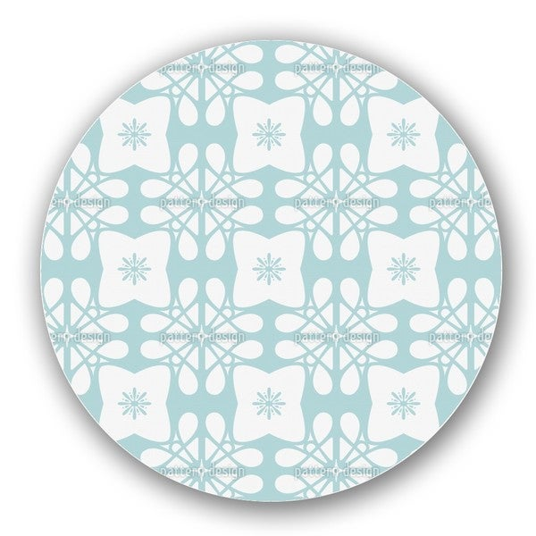 Icy Flower Lazy Susan