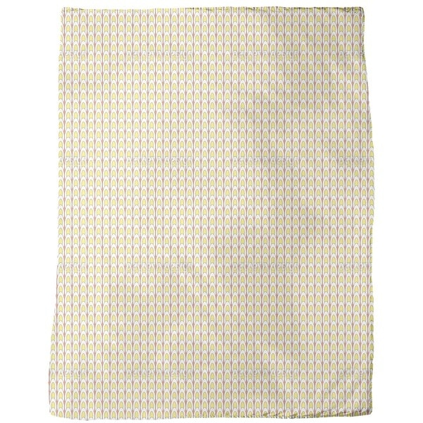 Hard Boiled Egg Parade Fleece Blanket