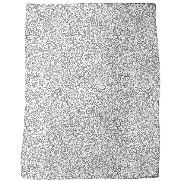 Magic Curls Fleece Blanket