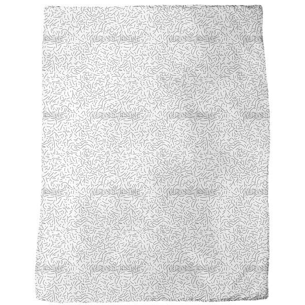 Bar Code Fleece Blanket