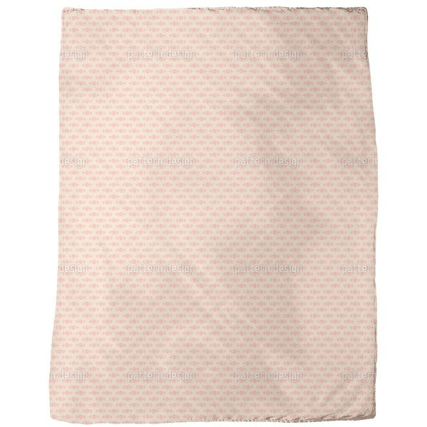Rose Beauty in the Morning Fleece Blanket
