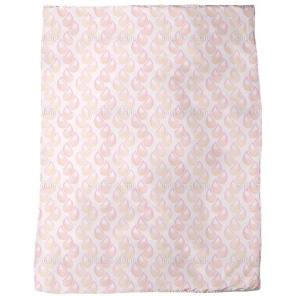 Pink Tears Fleece Blanket
