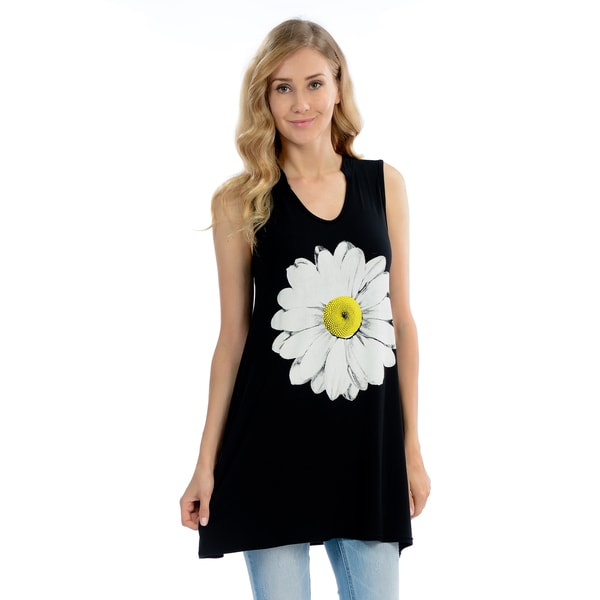 Daisy V-Neck Tank Top