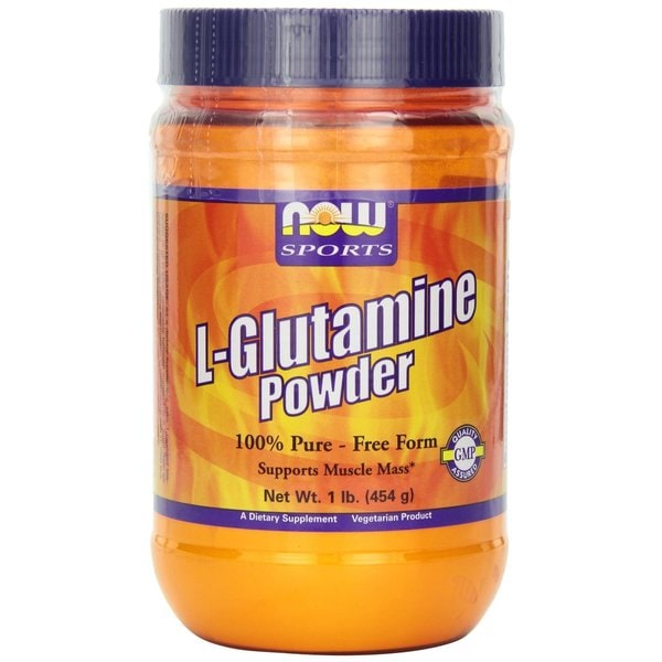 Now Foods 1-pound Pure L-Glutamine Powder
