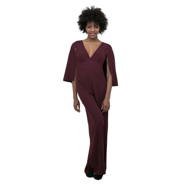 Hot Gal Cape Jumpsuit