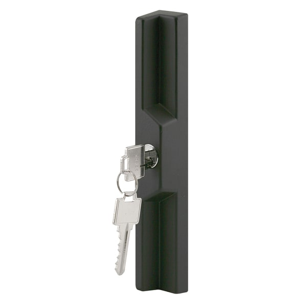 Prime Line C1041 Sliding Glass Door Pull w/ Locking Unit