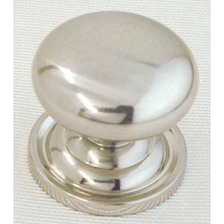 "Ultra Hardware 41661R1 1-1/4"" Satin Nickel Trendset Solid Brass Mushroom Knob"