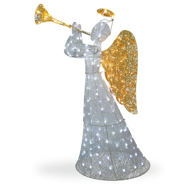 60-inch LED Angel Decoration