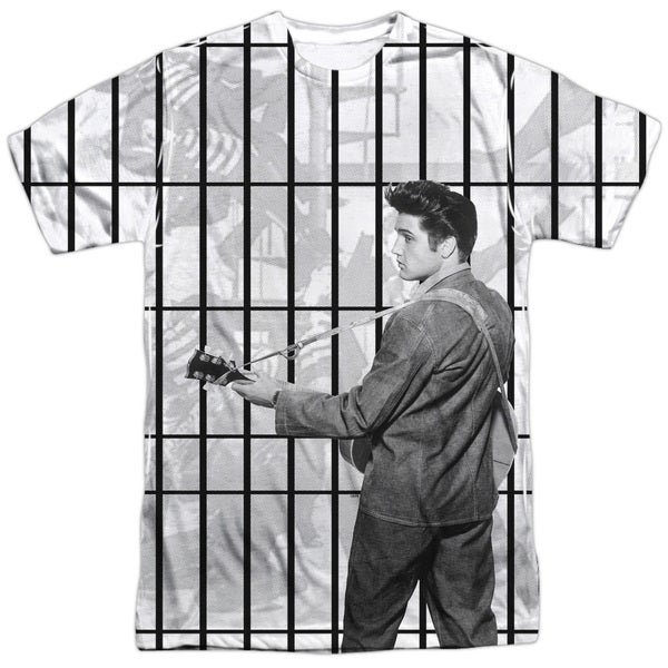 Elvis/Whole Cell Block (Front/Back Print)
