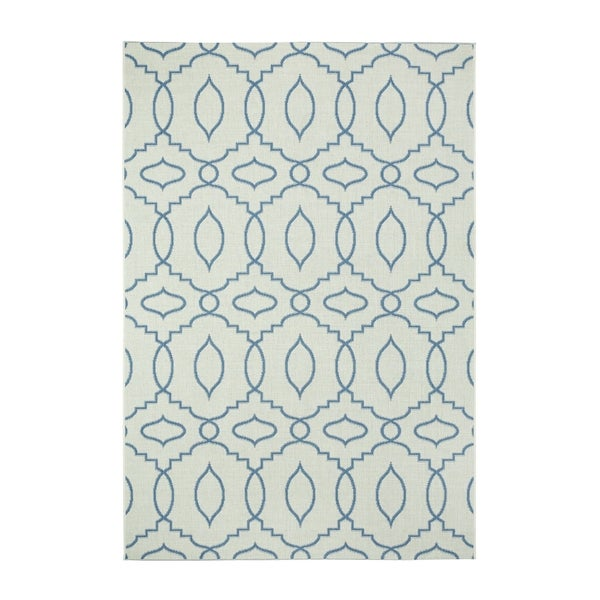Genevieve Gorder Elsinore-moor Rectangle Machine-woven Blueberry Rug (3'11 x 5'6)
