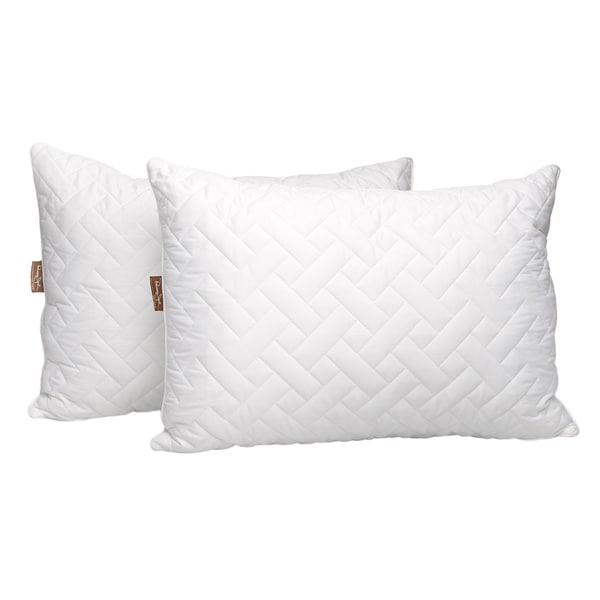 Panama Jack Quilted Jumbo Bed Pillow (Set of 2)
