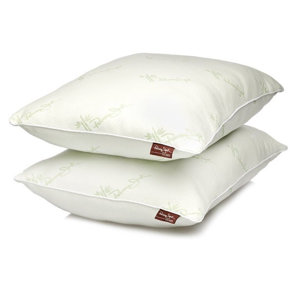 Panama Jack Rayon From Bamboo Infused Bed Pillows (Set of 2)