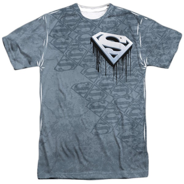 Superman/Drip and Repeat (Front/Back Print)