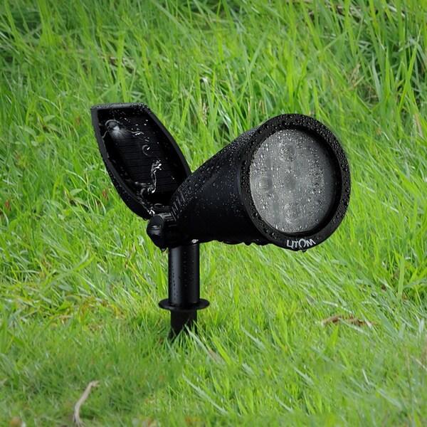 Litom Soleil P2 Black Plastic Spotlight