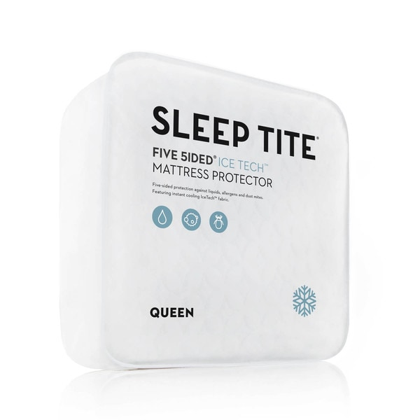 Sleep Tite Five 5ided IceTech Mattress Protector