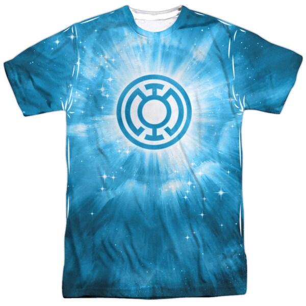 Green Lantern/Blue Energy (Front/Back Print)