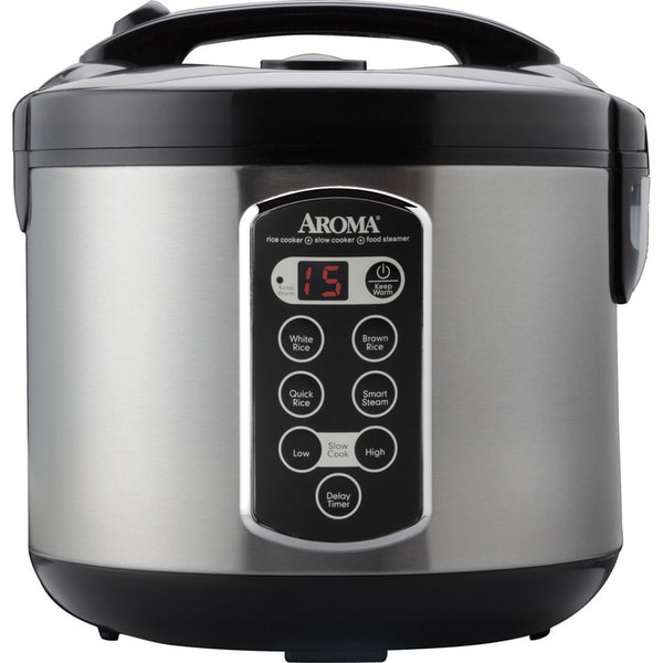 Aroma ARC-2000ASB 20-Cup Rice Cooker 20571675