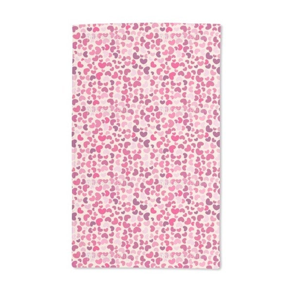 So Many Hearts Hand Towel (Set of 2)