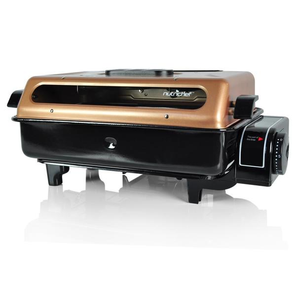 NutriChef PKFG16 Fish Grill Roasting Oven Cooker