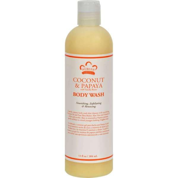 Nubian Heritage Coconut and Papaya Body Wash