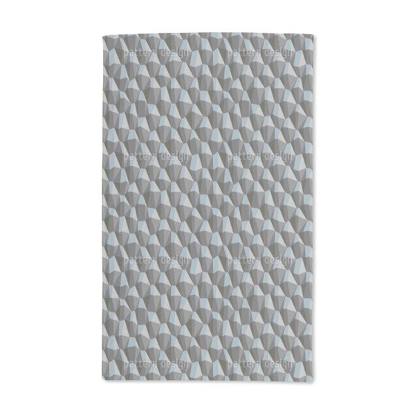 Geometric Steep Uphill Hand Towel (Set of 2)
