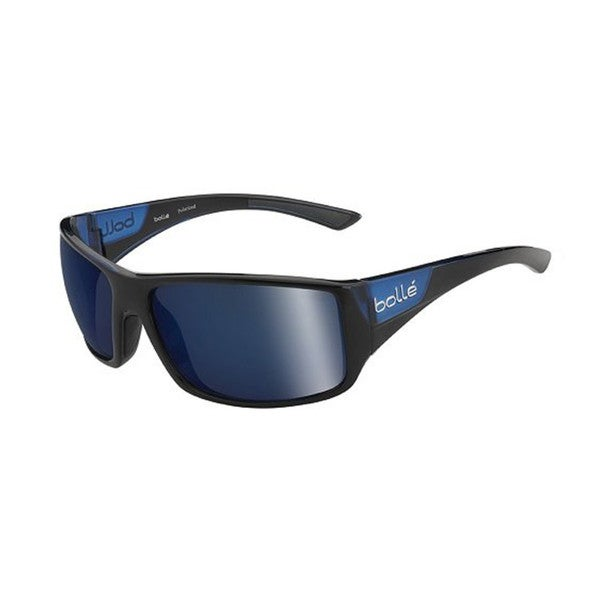 Bolle Tigersnake Sunglasses, Shiny Black/Matte Blue