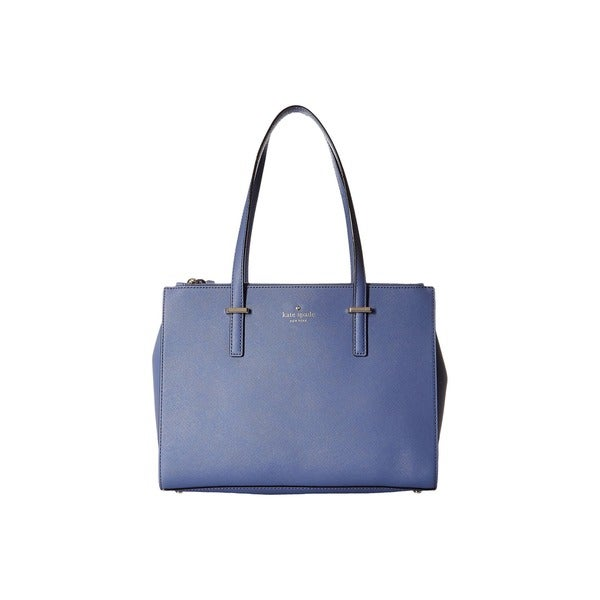 Kate Spade New York Cedar Street Jensen Oyster Blue Leather Small Tote Bag