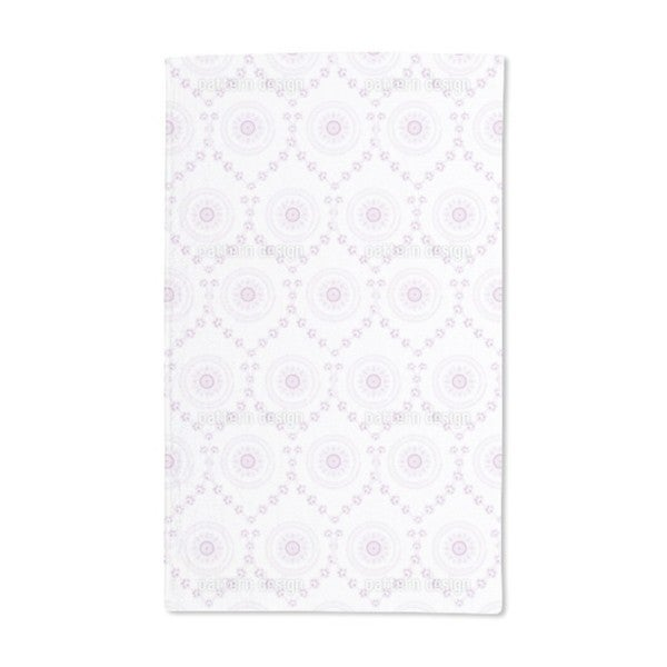 Sweet Violet Hand Towel (Set of 2)