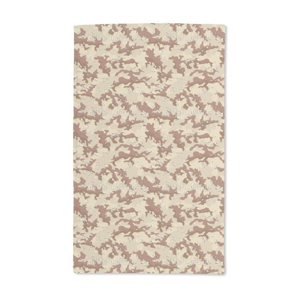 Old School Desert Camouflage Hand Towel (Set of 2)