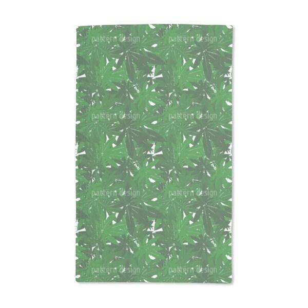 Foliage Top Secret Hand Towel (Set of 2)