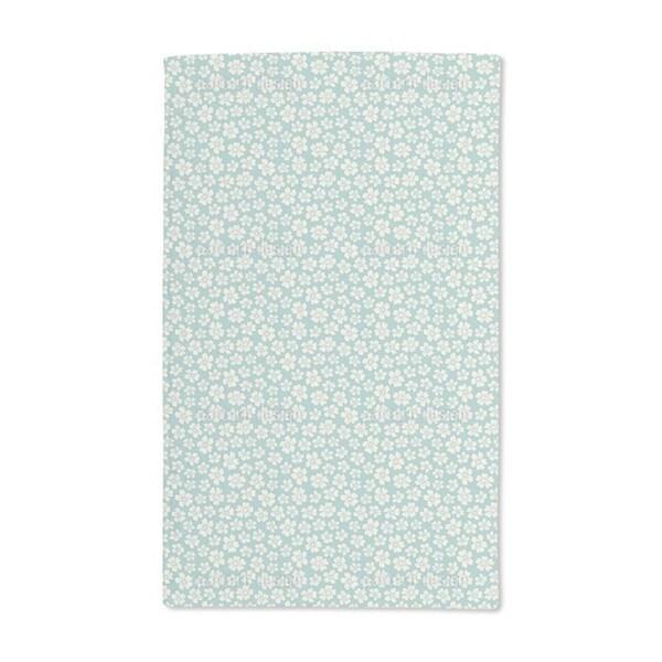 Bride Flowers Hand Towel (Set of 2)