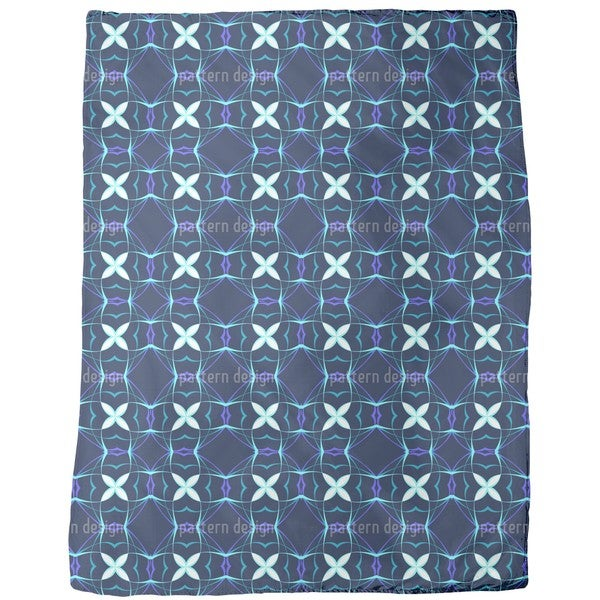 Futura Blue Fleece Blanket
