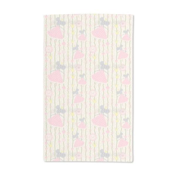 Little Mice Princess Birthday Hand Towel (Set of 2) 20575642