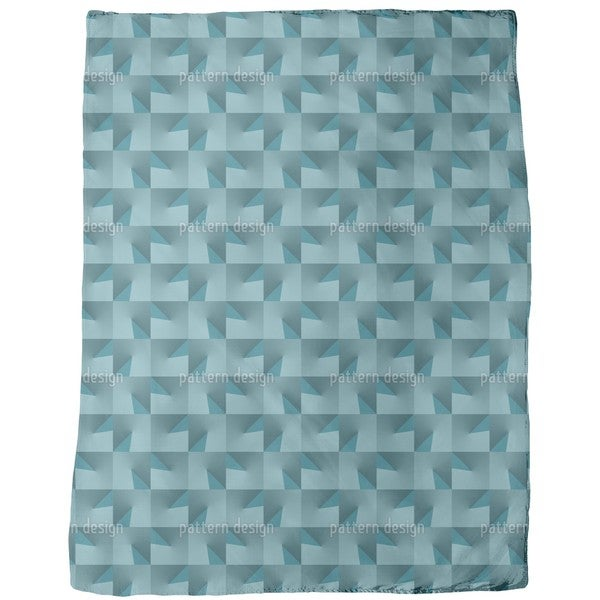 Broken Glass Fleece Blanket