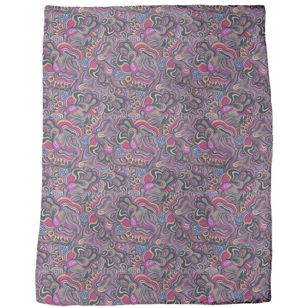 New Delhi Fantasies Fleece Blanket