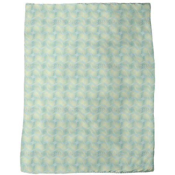 Fresh Microwaves Fleece Blanket