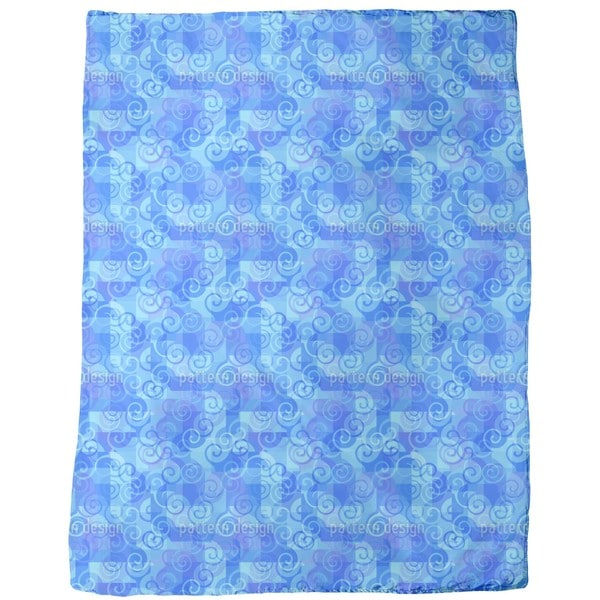 At the Sea Fleece Blanket