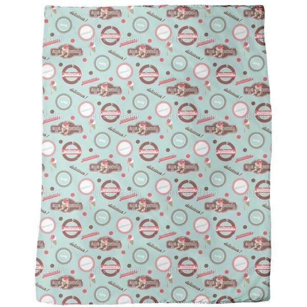 Yummy Mint Fleece Blanket