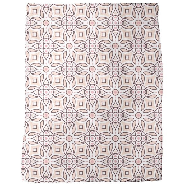 Soft Retro Fleece Blanket