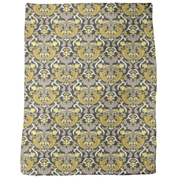 Bon Apart Yellow Fleece Blanket 20577132
