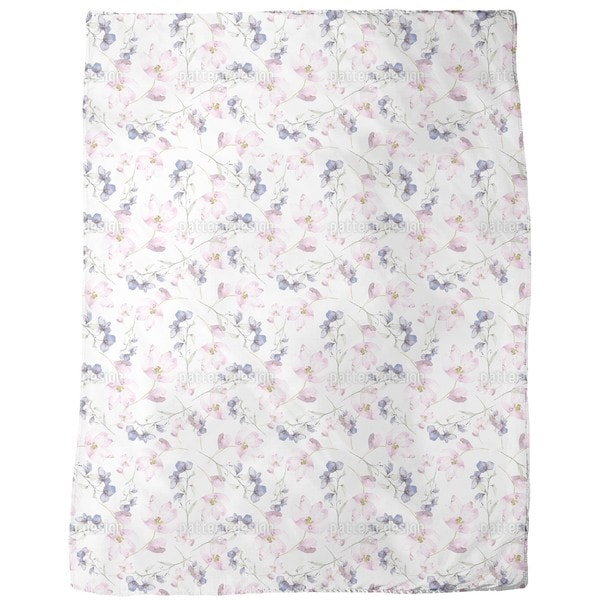 Flower Fairies Fleece Blanket