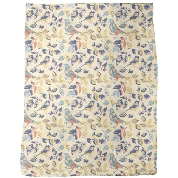 Patch Piep Fleece Blanket