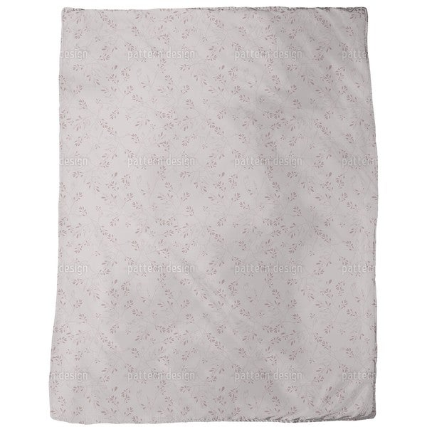Rediscovered Rose Fleece Blanket