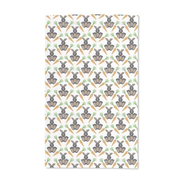 Bunny Bunny Hand Towel (Set of 2)