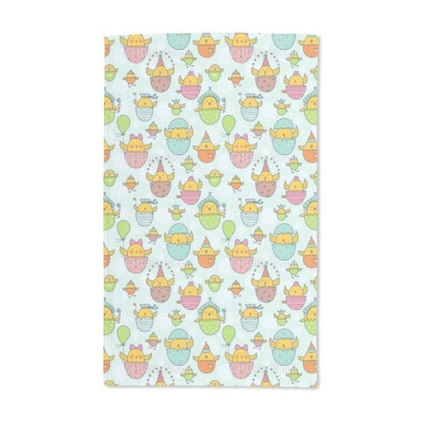The Russian Easter Chick Hatch Hand Towel (Set of 2)